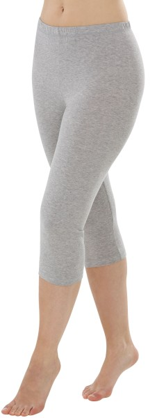 Leggings grau Capri 1-03-2764