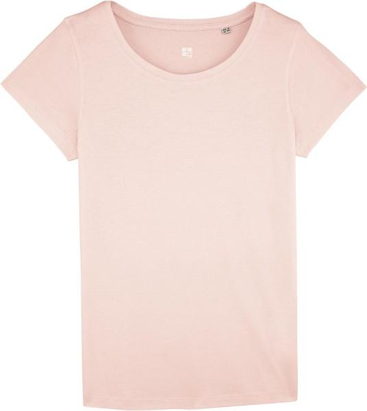 T-Shirt aus Bio-Baumwolle - candy pink