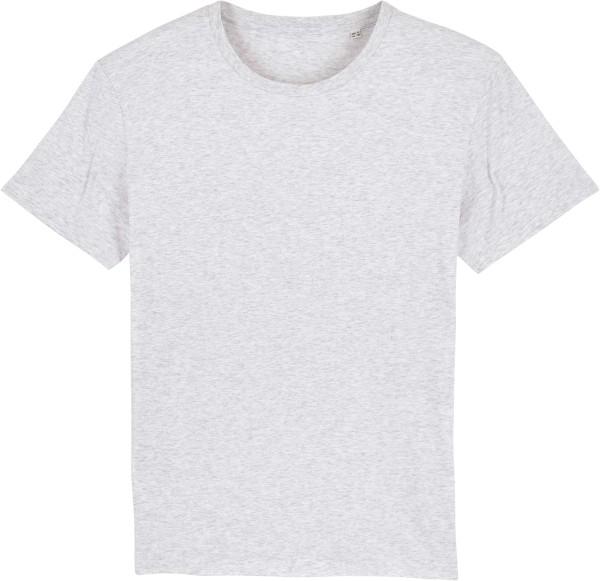 T-Shirt aus Bio-Baumwolle - heather ash