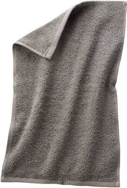 Gäste-Handtuch aus Bio-Baumwolle 30x50 cm kaschmir - Bild 1