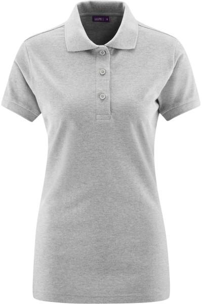 Poloshirt - Biobaumwolle grau