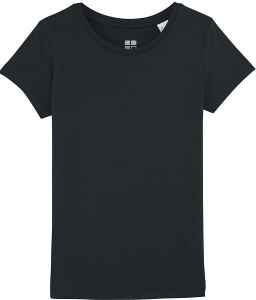 Mädchen T-Shirt Bio-Baumwolle - black