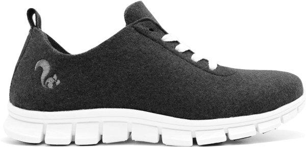 Filz-Sneaker aus recycelten PET-Flaschen - negro