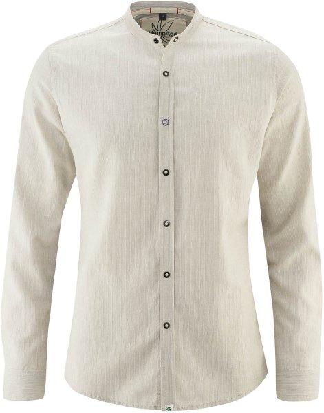 Leichtes Hemd aus Hanf und Bio-Baumwolle - hanf