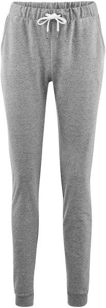 Wellnesshose aus Bio-Baumwolle - stone grey