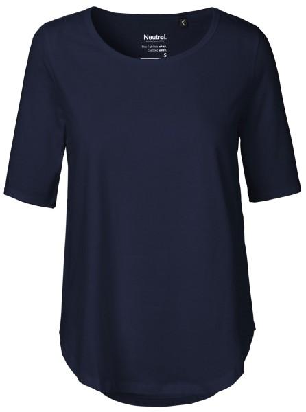 T-Shirt halblange Ärmel navy NE81004
