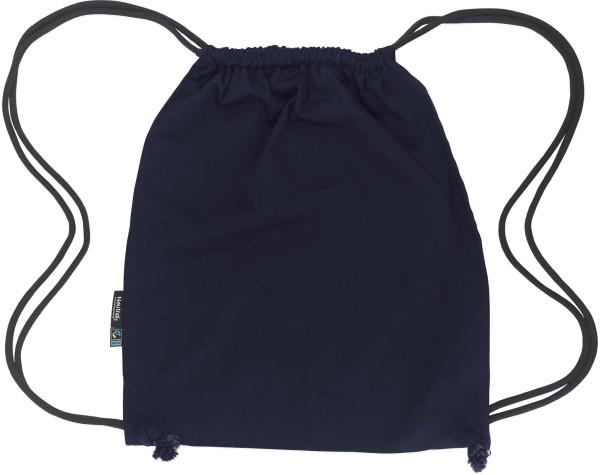 Gym Bag aus Fairtrade Bio-Baumwolle - navy