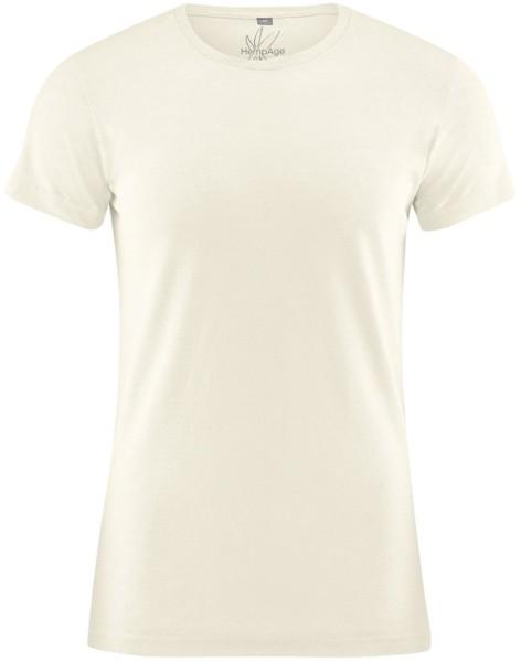 T-Shirt aus Hanf und Bio-Baumwolle - natur