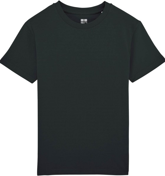 Kinder T-Shirt Bio-Baumwolle - black