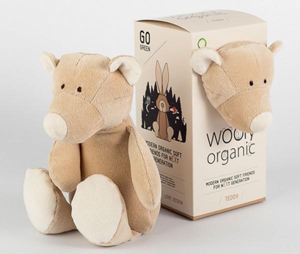 Kuscheltier Teddy aus Bio-Baumwolle - klein - Bild 1