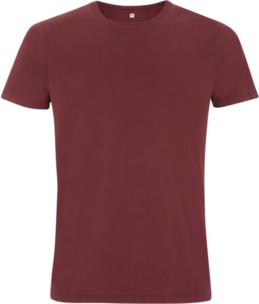 Organic T Shirt burgundy
