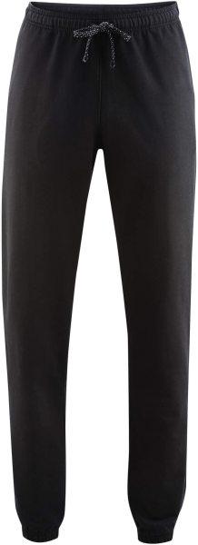 Jogginghose - Biobaumwolle - schwarz