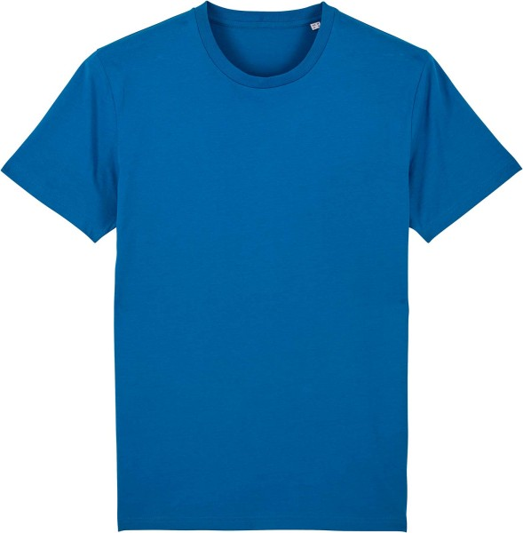 T-Shirt aus Bio-Baumwolle - royal blue