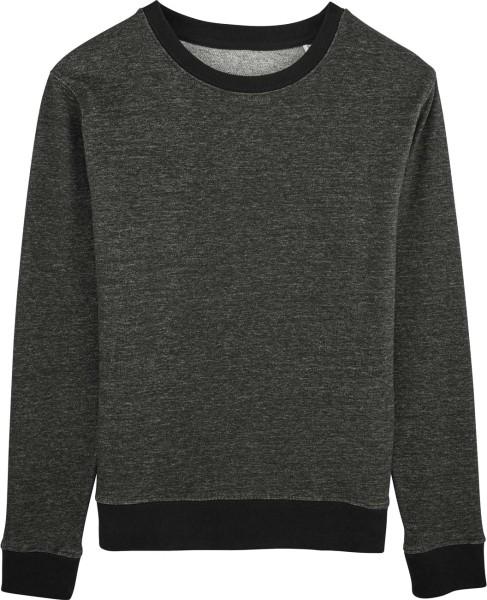 Sweater aus Biobaumwolle - stretch limo