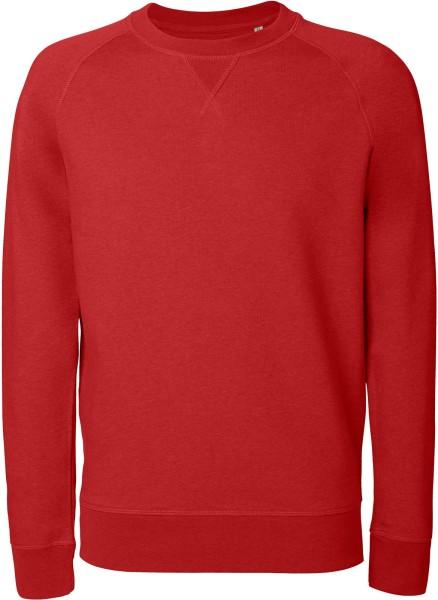 Strolls - Sweatshirt aus Bio-Baumwolle - rot