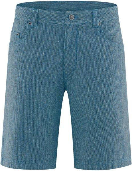 Shorts aus Hanf und Bio-Baumwolle - sea
