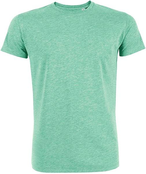 Leads - T-Shirt aus Bio-Baumwolle - grün-meliert - Bild 1