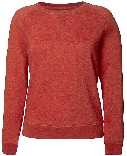 Trips - Sweatshirt aus Bio-Baumwolle - heather brick orange - Bild 1