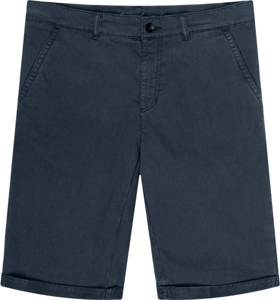 Walkshorts - Chino-Shorts aus Bio-Baumwolle - dunkelblau