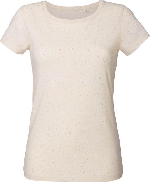 Wants - T-Shirt aus Bio-Baumwolle - ecru neppy mandarine - Bild 1