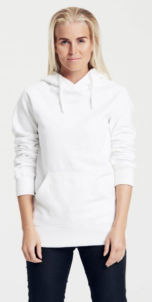detailed look 396d1 cd3e3 Hooded Sweatshirt aus Fairtrade Bio-Baumwolle - weiss