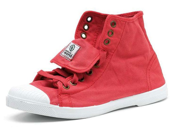 Bota Sport - Hohe Sneakers aus Bio-Baumwolle - fresa - Bild 1