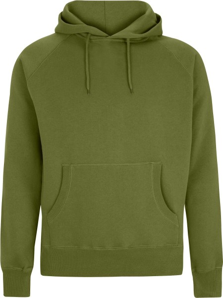 Pullover Hooded Sweatshirt - khaki