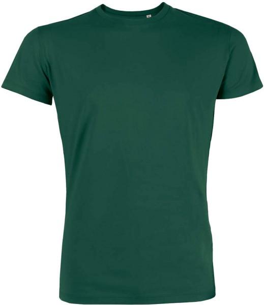 Leads - Kurzarmshirt aus Bio-Baumwolle - bottle green - Bild 1