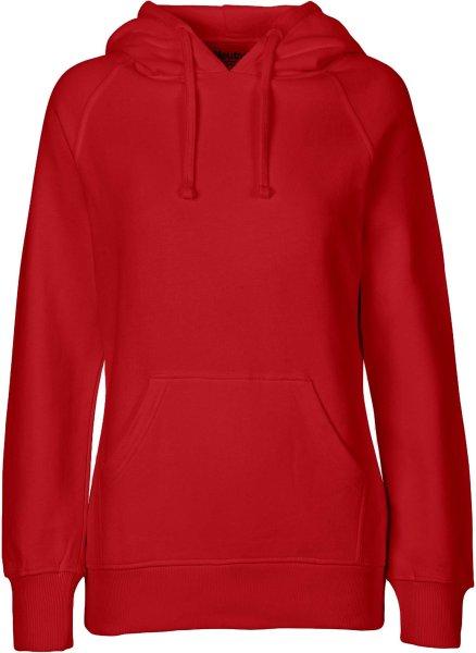 Hooded Sweatshirt aus Fairtrade Bio-Baumwolle - red