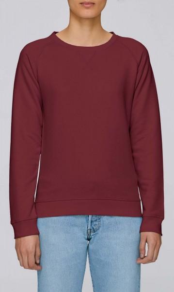 Trips - Sweatshirt aus Bio-Baumwolle - burgundy - Bild 1