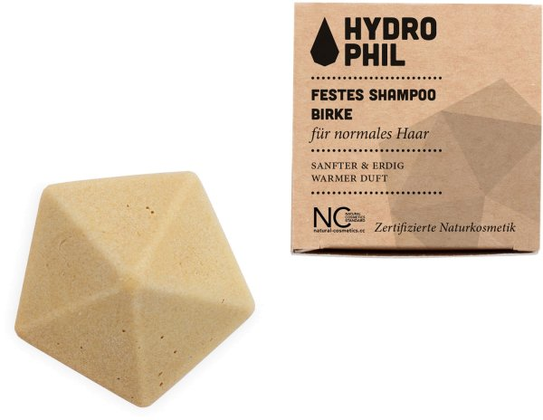 Festes Shampoo - Birke - für normales Haar