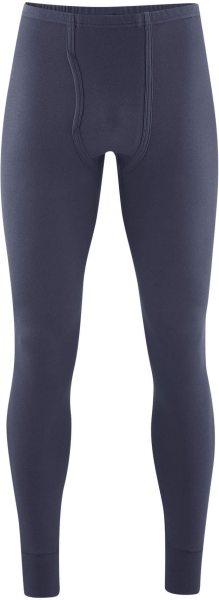 Lange Männerunterhose - Biobaumwolle navy graphite