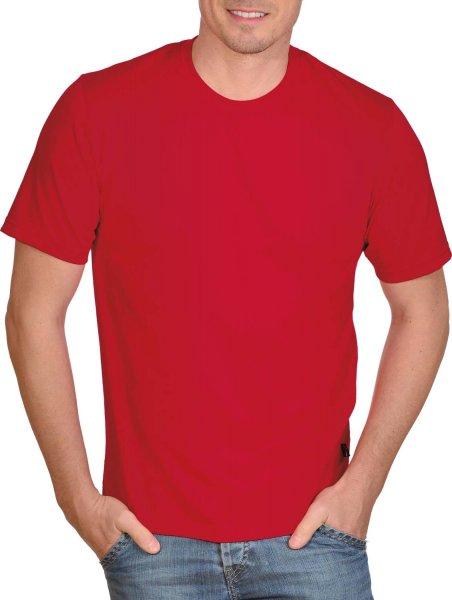 Klassisches T-Shirt aus Baumwolle - kirsch - Bild 1