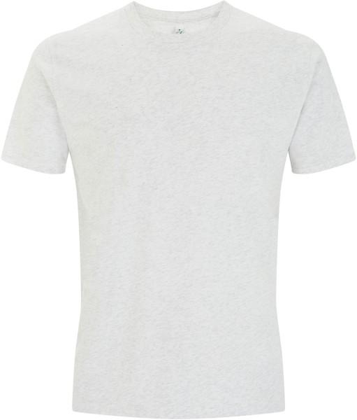 Organic Herren T-Shirt - melange white