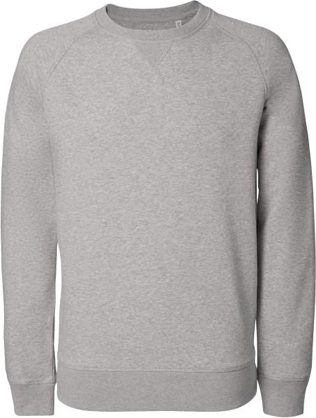 Strolls - Sweatshirt aus Bio-Baumwolle - grau meliert