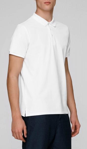Competes - Klassisches Poloshirt aus Bio-Baumwolle - weiss - Bild 1