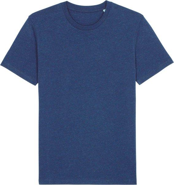 T-Shirt aus Bio-Baumwolle - heather snow mid blue