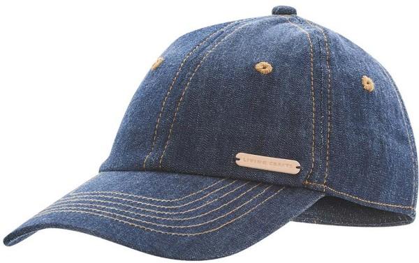 Baseballkappe Bio-Baumwolle – indigo blue