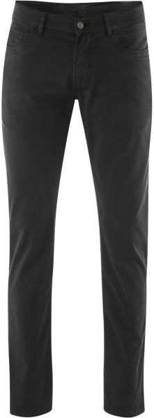 5-Pocket Hose schwarz aus Bio-Baumwolle - Vegan
