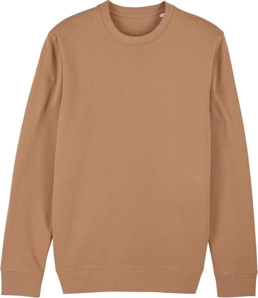 Unisex Sweatshirt aus Bio-Baumwolle - camel
