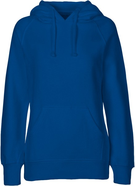 Hooded Sweatshirt aus Fairtrade Bio-Baumwolle - royal blue