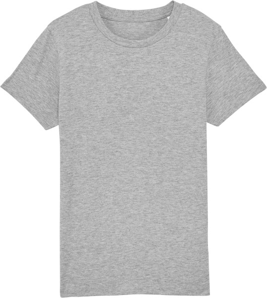 Kinder T-Shirt aus Bio-Baumwolle - heather grey