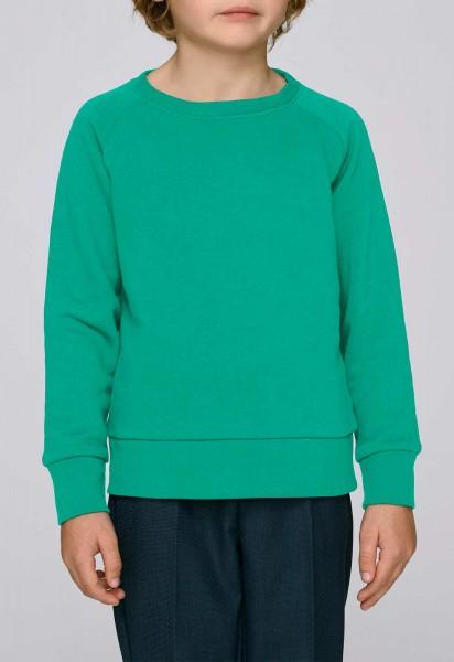 Kinder Mini Scouts - Unisex Sweatshirt BioBaumwolle vivid green - Bild 1