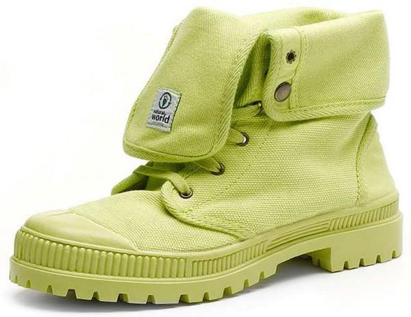Bota Alta Suela Al Tono - Schuhe aus Bio-Baumwolle - lima - Bild 1