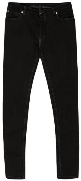 Slim Fit Jeans Damen schwarz bio bleed 789f