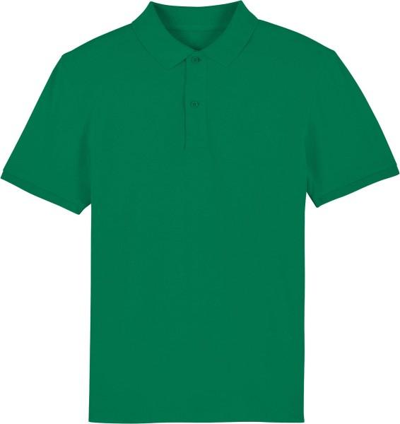 Piqué-Poloshirt aus Bio-Baumwolle - varsity green