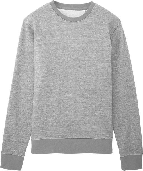 online store 6fadf 03a0c Sweatshirt aus Bio-Baumwolle - grau meliert
