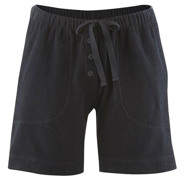 Frottee-Shorts aus Bio-Baumwolle - dark navy - Bild 1