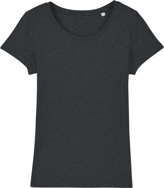 Jersey-Shirt aus Bio-Baumwolle - dark heather grey