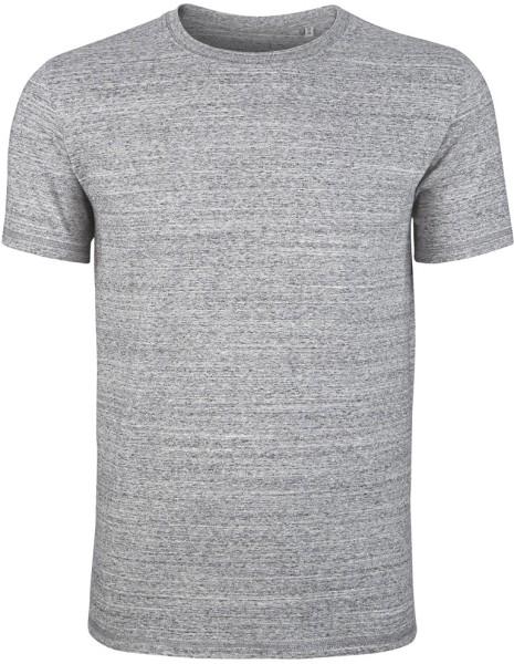 Hips - T-Shirt schwerer Stoff Bio-B. - slub heather grey - Bild 1